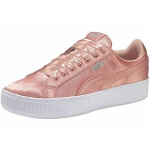 Puma Vikky Platform EP Damen Sneaker peach Satin – Bild 2