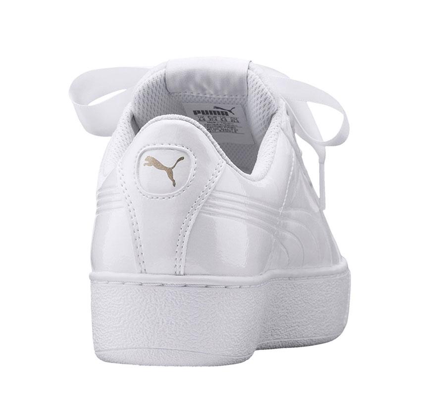 puma sneaker damen weiß lack