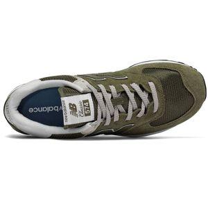New Balance ML574EGO Herren Sneaker olive grau – Bild 3