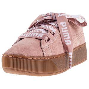 Puma Vikky Platform Ribbon Bold Damen Sneaker peach beige – Bild 4