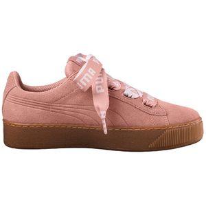Puma Vikky Platform Ribbon Bold Damen Sneaker peach beige – Bild 1