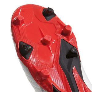 adidas Predator 18.3 FG Herren Fußballschuh weiß schwarz coral – Bild 6