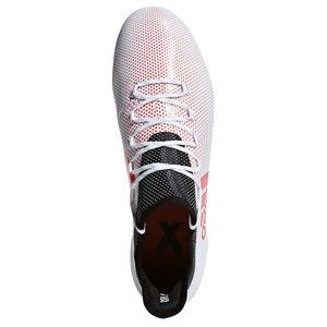 adidas X 17.1 FG Herren Fußballschuh Nockenschuh weiß rot – Bild 3