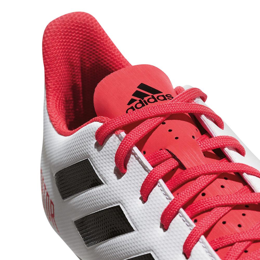 buy popular 9cad3 c1dd2 adidas Predator 18.4 FxG Herren Fußballschuhe weiß schwarz coral – Bild 4