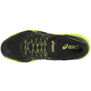 Asics Gel-FujiTrabuco 6 G-TX Laufschuhe schwarz gelb T7FON-9089 – Bild 3