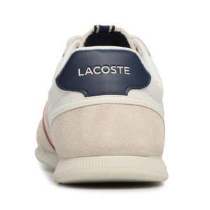 Lacoste Menerva Herren Sneaker off white navy 7-35CAM0078WN1 – Bild 4