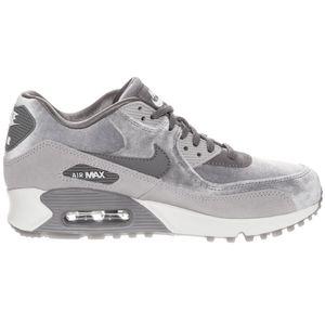 Nike WMNS Air Max 90 LX Damen Sneaker grau weiß 898512 007 – Bild 1