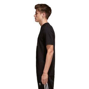 adidas Originals Trefoil T-Shirt Herren schwarz weiß CW0709 – Bild 5