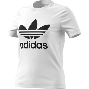 adidas Originals Trefoil Tee Damen T-Shirt white black CV9889 – Bild 1