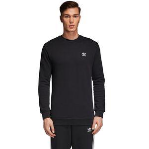 adidas Originals Standard Crew Pullover Herren schwarz weiß CW1232 – Bild 3