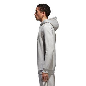adidas Originals Trefoil Hoodie Herren CY4572 grau weiß – Bild 3