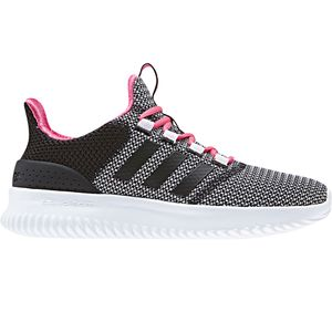 adidas neo Cloudfoam Ultimate Kinder & Damen schwarz weiß pink DB0837 – Bild 1
