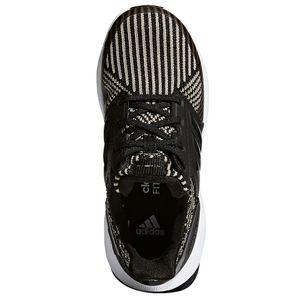 adidas RapidaRun KNIT J Kinderschuh schwarz olive weiß DB0220 – Bild 3