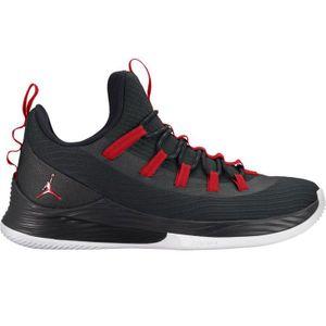 Jordan Ultra Fly 2 Low Herren Basketball schwarz weiß rot AH8110 001 – Bild 1