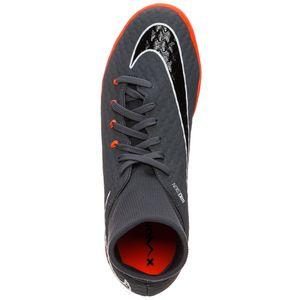 Nike Phantom 3 Academy DF IC Herren Hallenschuhe grau orange AH7274 081 – Bild 4