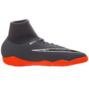 Nike Phantom 3 Academy DF IC Herren Hallenschuhe grau orange AH7274 081 – Bild 1