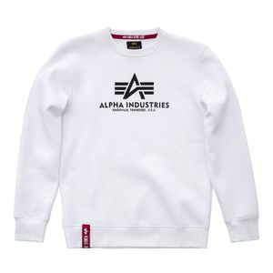 Alpha Industries Basic Sweater Pulli weiß 178302 09 – Bild 1