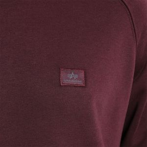 Alpha Industries X-Fit Sweat Pullover deep maroon 158320 21 – Bild 2