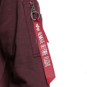 Alpha Industries X-Fit Sweat Pullover deep maroon 158320 21 – Bild 3