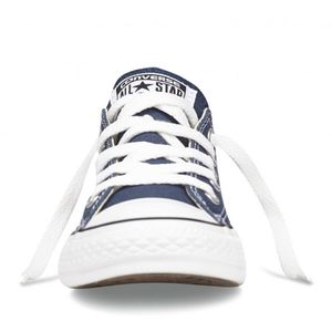 Converse Youth All Star OX Chucks Kinder blau 3J237C  – Bild 3