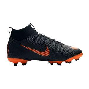 Nike JR Superfly VI Academy MG Fussballschuh schwarz orange AH7337 081  – Bild 1