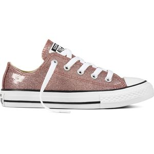 Converse CT AS OX Chuck Taylor All Star Kinder Glitzer Chucks rosa – Bild 1
