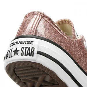 Converse CT AS OX Chuck Taylor All Star Kinder Glitzer Chucks rosa – Bild 3
