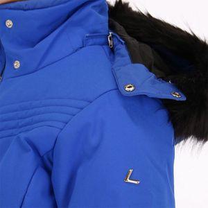 Luhta Bieta Skijacke Damen blau schwarz – Bild 2