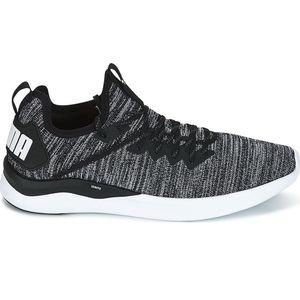 Puma Ignite Flash evoKnit Herren Sneaker schwarz grau weiß 190508 02