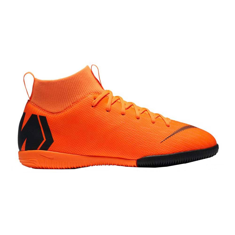 wholesale dealer f1131 7c957 Nike SuperflyX 6 Academy GS IC Kinder Hallenschuhe orange AH