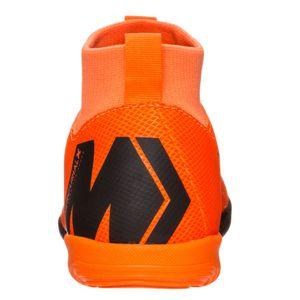 Nike SuperflyX 6 Academy GS IC Kinder Hallenschuhe orange AH7343 810 – Bild 4