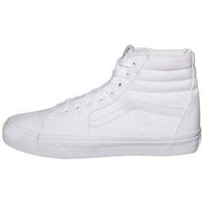 Vans SK8-Hi High-Top Leinen Sneaker weiß true white VN000D5IW00 – Bild 2