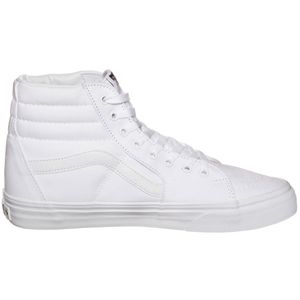 Vans SK8-Hi High-Top Leinen Sneaker weiß true white VN000D5IW00 – Bild 1
