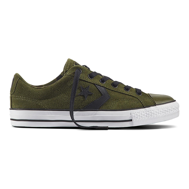 cheap for discount e4ea3 0a7a2 Converse Star Player OX Herren Sneaker grün weiß 159729C