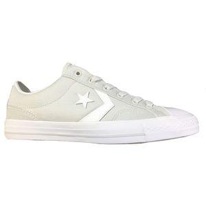 Converse Star Player OX Herren Sneaker hellgrau weiß 161074C  – Bild 1