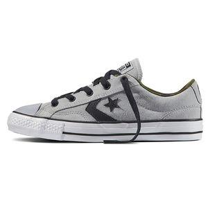 Converse Star Player OX Herren Sneaker hellgrau weiß 159777C – Bild 2