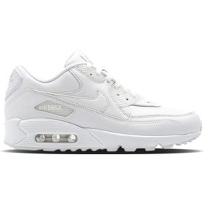 Nike Air Max 90 Leather Herren Sneaker weiß 302519 113 – Bild 1
