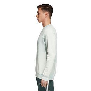 adidas Originals Trefoil Crew Pullover Herren ash green CV8645 – Bild 3