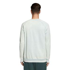 adidas Originals Trefoil Crew Pullover Herren ash green CV8645 – Bild 4