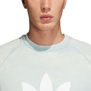adidas Originals Trefoil Crew Pullover Herren ash green CV8645 – Bild 5