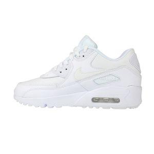 Nike Air Max 90 LTR GS Sneaker weiß 833412 100 – Bild 2