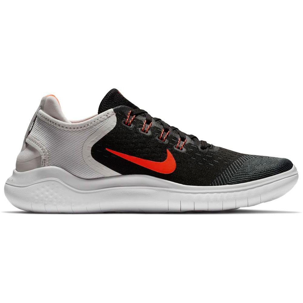 huge selection of best choice good service Nike Free RN 2018 Herren Running Sneaker schwarz grau neon 942836 005