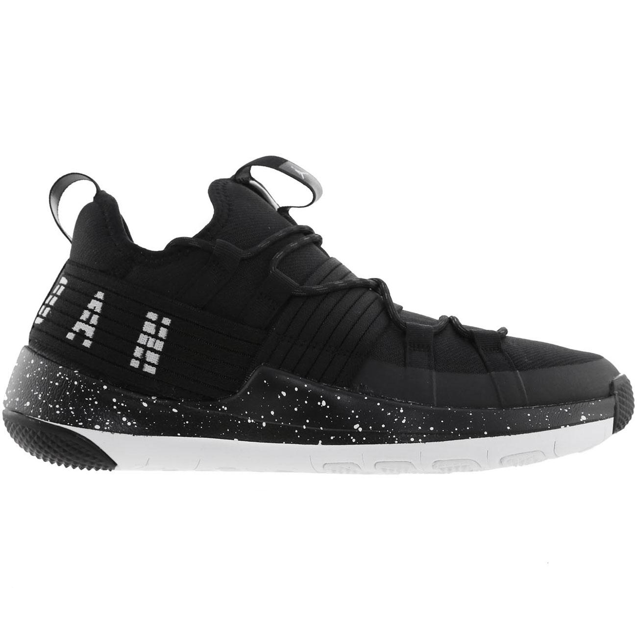 b53cd8025a81cd Jordan Trainer Pro Herren Basketballschuhe schwarz weiß AA1344 010