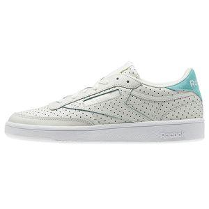 Reebok Club C 85 Popped Perf Damen Sneaker chalk turquoise CM9277 – Bild 2
