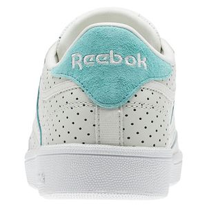 Reebok Club C 85 Popped Perf Damen Sneaker chalk turquoise CM9277 – Bild 3