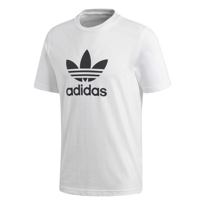 size 40 c429f b38d6 adidas Originals Trefoil T-Shirt Herren weiß schwarz CW0710