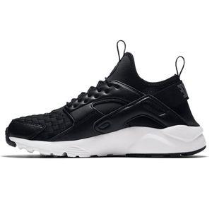Nike Air Huarache Run Ultra SE Herren Sneaker schwarz weiß 875841 008 – Bild 2