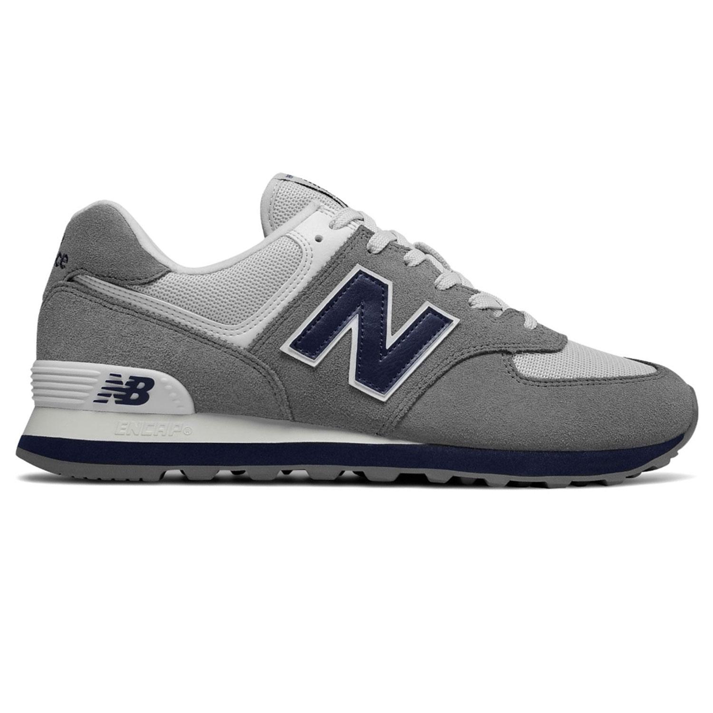 new balance ml574esd herren sneaker 638591 60 12 grau blau. Black Bedroom Furniture Sets. Home Design Ideas