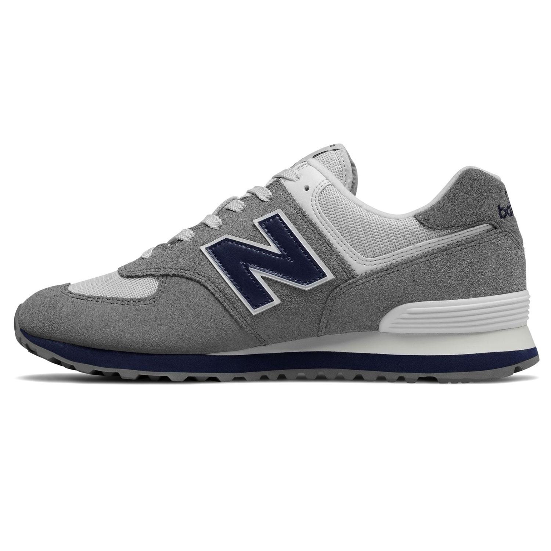417db3d647fa5a New Balance ML574ESD Herren Sneaker 638591-60-12 grau blau – Bild 2