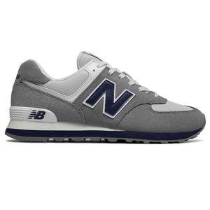 New Balance ML574ESD Herren Sneaker 638591-60-12 grau blau – Bild 1